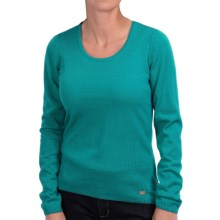 Dale of Norway Astrid Sweater - Merino Wool (For Women) in Peacock - Closeouts