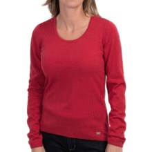 Dale of Norway Astrid Sweater - Merino Wool (For Women) in Raspberry/Metal - Closeouts