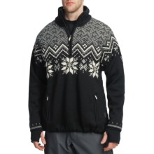 Dale of Norway Ekspedisjon Sweater - Weatherproof (For Men) in Black - Closeouts