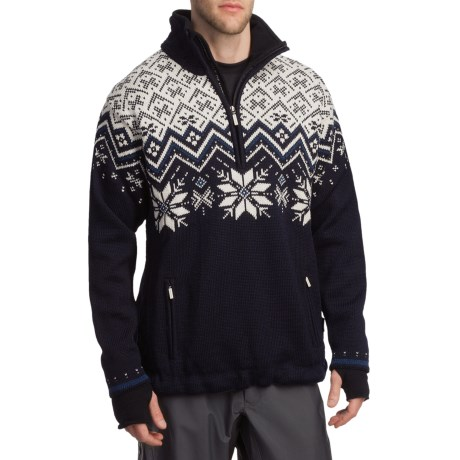 Dale of Norway Ekspedisjon Sweater - Weatherproof (For Men) in Navy
