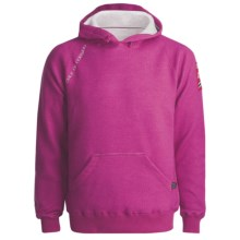 Dale of Norway Folgefonn Merino Fleece Pullover - Hoodie Sweatshirt (For Men and Women) in Fuschia Red - Closeouts