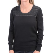 Dale of Norway Gol Sweater - Merino Wool (For Women) in Black - Closeouts
