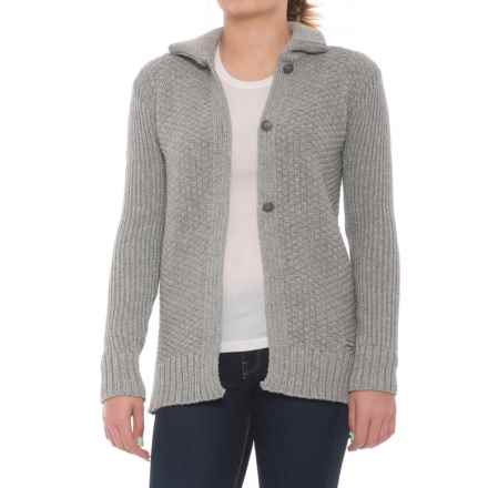 Dale of Norway Gudrun Jacket - Merino Wool (For Women) in Light Charcoal - Closeouts