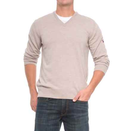 Dale of Norway Harald Sweater - Merino Wool, V-Neck (For Men) in Beige - Closeouts