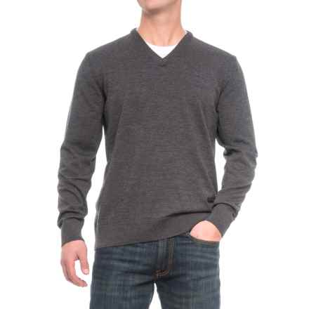 Dale of Norway Harald Sweater - Merino Wool, V-Neck (For Men) in Dark Grey - Closeouts