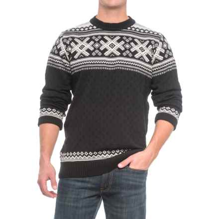 Dale of Norway Haukeli Sweater - Merino Wool (For Men) in Black - Closeouts
