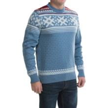 Dale of Norway Haukeli Sweater - Merino Wool (For Men) in Blue Shadow - Closeouts