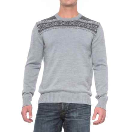Dale of Norway Hemsedal Sweater - Merino Wool (For Men) in Dark Grey - Closeouts