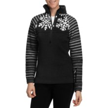 Dale of Norway Isfjorden Sweater (For Women) in Black/Off White - Closeouts