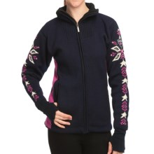 Dale of Norway Istind Windstopper® Jacket (For Women) in Navy/Allium Pink - Closeouts