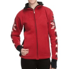 Dale of Norway Istind Windstopper® Jacket (For Women) in Raspberry/Black Cream - Closeouts