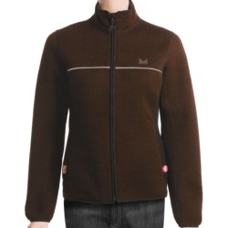 Dale of Norway Kirkerud Knitshell Soft Shell Jacket - Windstopper® (For Women) in Mocca/Black