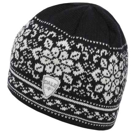 Dale of Norway Peace Hat (For Women) in Black/Off White - Closeouts