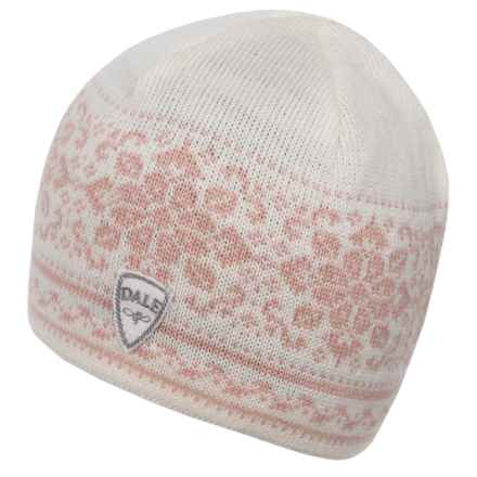Dale of Norway Peace Hat (For Women) in Off White/Carnation - Closeouts