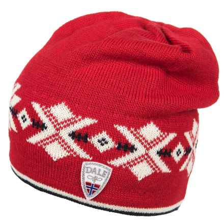 Dale of Norway Sochi Knit Hat  (For Women) in Raspberry/Off White - Closeouts