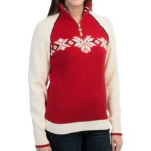 Dale of Norway Sochi Sweater - Wool (For Women) in Red/White - Closeouts