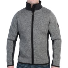 Dale of Norway Spits Sweater - New Wool (For Men) in Smoke/Black - Closeouts