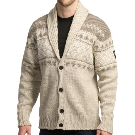 Dale of Norway Valle Cardigan Sweater - New Wool (For Men) in Mountainstone