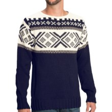 Dale of Norway Voss Sweater - Wool (For Men) in Atlantic Blue/Navy - Closeouts