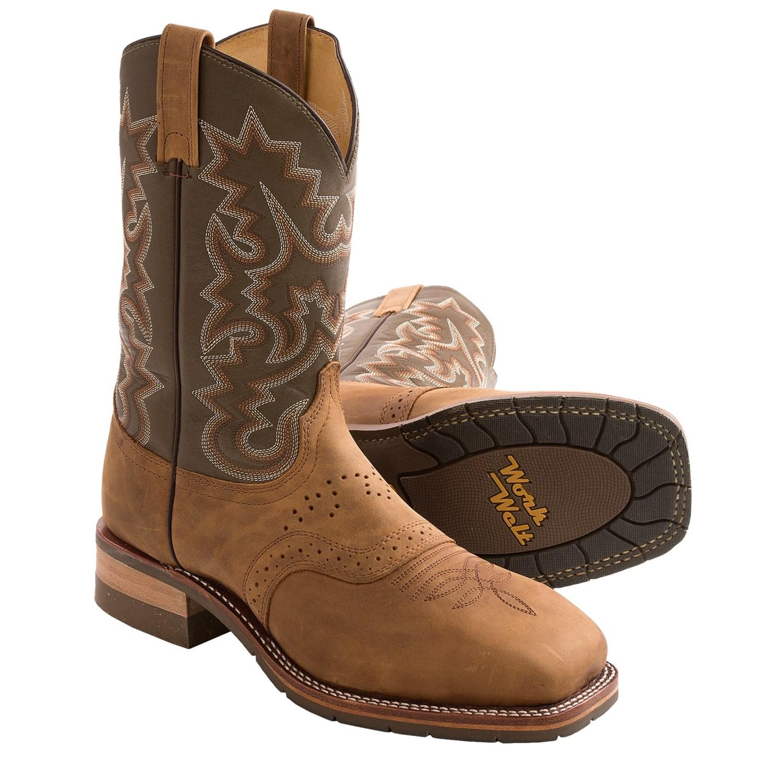 Steel Toe Cowboy Boots For Men Cowboy Boots Steel Toe