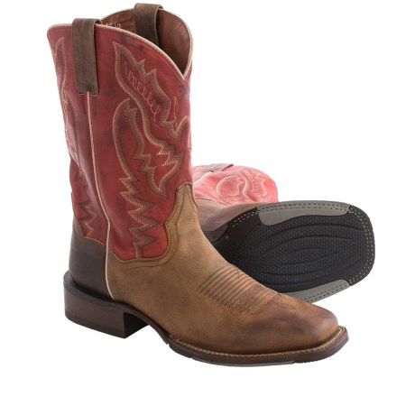 Dan Post Matheson Cowboy Boots Leather, Square Toe (For Men)
