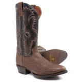 "Dan Post Moses Cowboy Boots - 13"", Round Toe (For Men)"