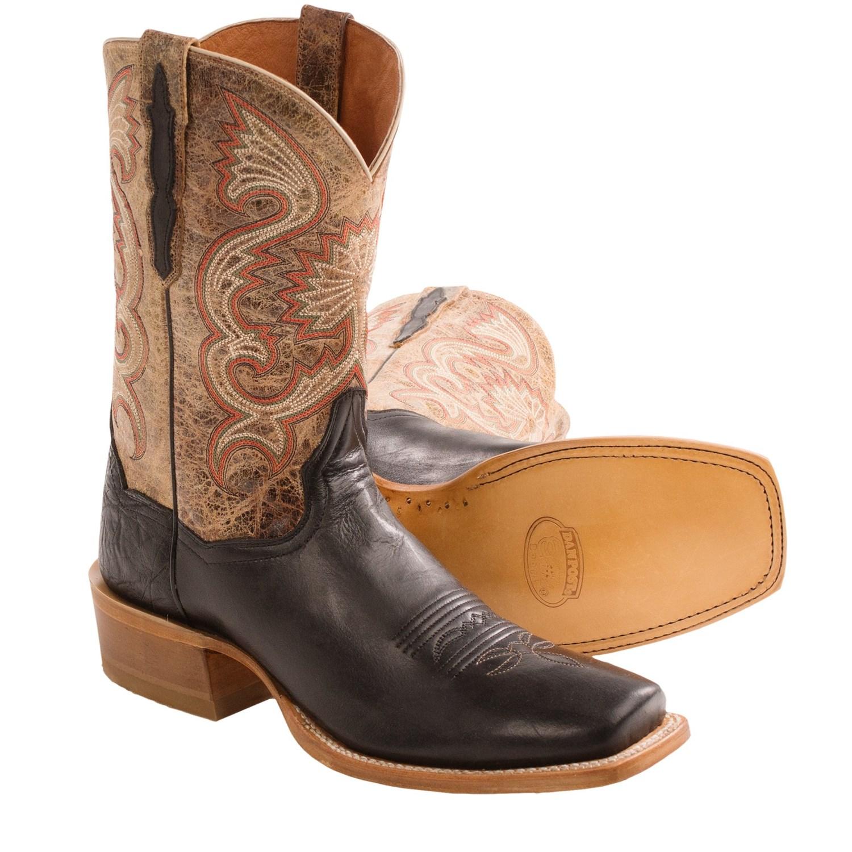 Gator Skin Boots Square Toe Cowboy Boots Square Toe
