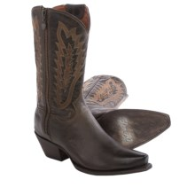 Dan Post Trish Cowboy Boots - Leather, Snip Toe (For Women) in Brown - Closeouts