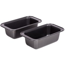 Danesco Nonstick Mini Loaf Pans - Set of 2 in See Photo - Closeouts
