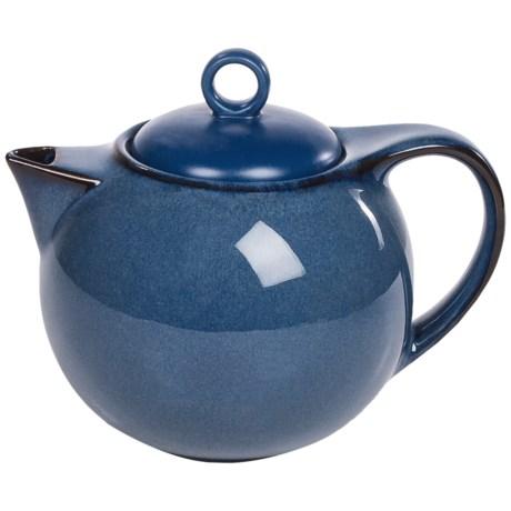 Danesco Reactive-Glazed Teapot - 52 fl.oz. in Blue
