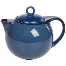 Danesco Reactive-Glazed Teapot in Blue - Closeouts