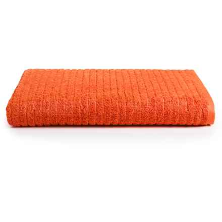 Danica Studio Aegean Bath Towel - Turkish Cotton in Tangerine - Closeouts