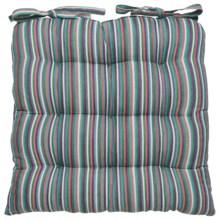 Danica Studio Chair Pads - Set of 2 in Topaz Stripe - Closeouts