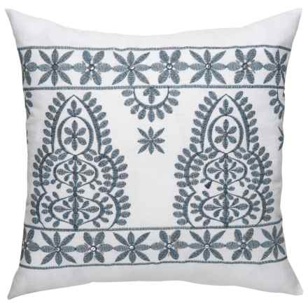"Danica Studio Decorative Throw Pillow Cover - 17"" in Regal - Closeouts"