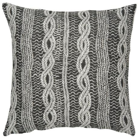 "Danica Studio Linen Decorative Throw Pillow Cover - 17"""