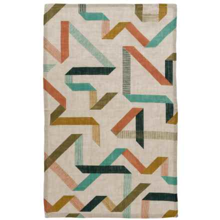Danica Studio Linen Tea Towel in Calliope - Closeouts