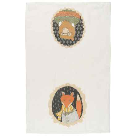 Danica Studio Linen Tea Towel in Cameo - Closeouts