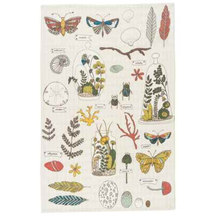 Danica Studio Linen Tea Towel in Ephemera - Closeouts