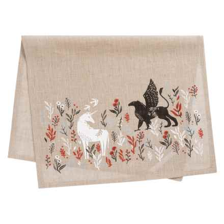 Danica Studio Linen Tea Towel in Legend - Closeouts