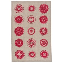 Danica Studio Linen Tea Towel in Merry & Bright - Closeouts