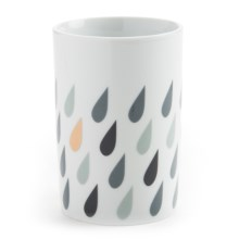 Danica Studio Porcelain Tumbler - 14 fl.oz. in Raindrops - Closeouts