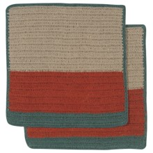 Danica Studio Sasha Crochet Dishcloth - Set of 2 in Autumn - Closeouts