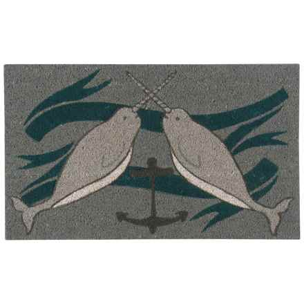 "Danica Studio Seven Seas Mat -18x30"" in Grey - Closeouts"
