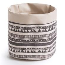 Danica Studio Small Linen Storage Basket in Summit Stripe - Closeouts
