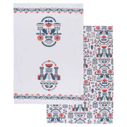 Danica Studio Tea Towel - Set of 2 in Folklore - Closeouts