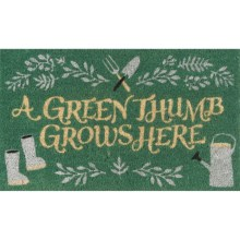 Danica Studios Coir Doormat in Green Grows - Closeouts