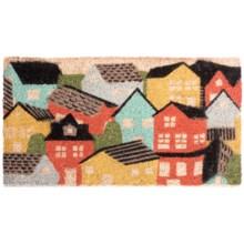 Danica Studios Coir Doormat in Village - Closeouts