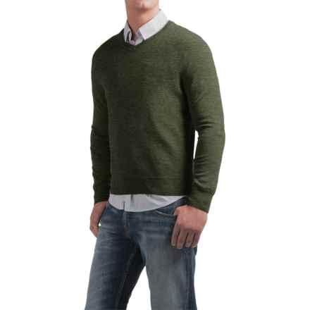 Daniel Bishop V-Neck Sweater - Merino Wool (For Men) in Green Heather - Closeouts