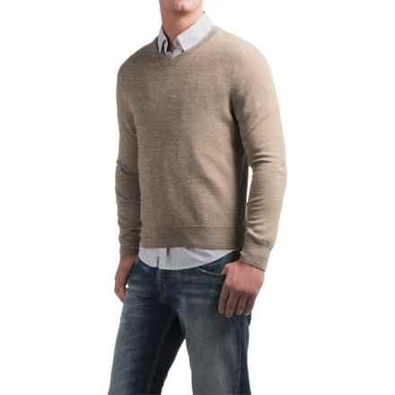 Daniel Bishop V-Neck Sweater - Merino Wool (For Men) in Nut Heather - Closeouts