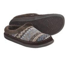 Daniel Green Avery Slippers - Lambswool (For Women) in Chocolate - Closeouts